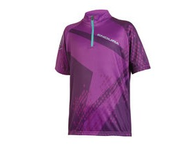 ENDURA Kids Ray S/S Jersey Purple