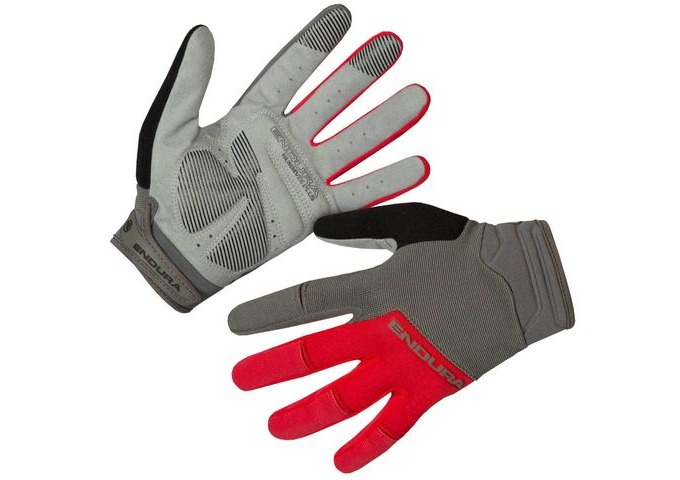 ENDURA Hummvee Plus Glove II Red click to zoom image