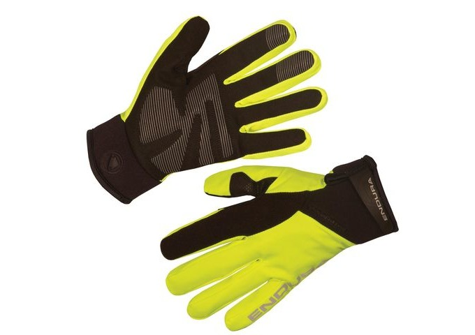 ENDURA Womens Strike II Glove HiVizYellow click to zoom image