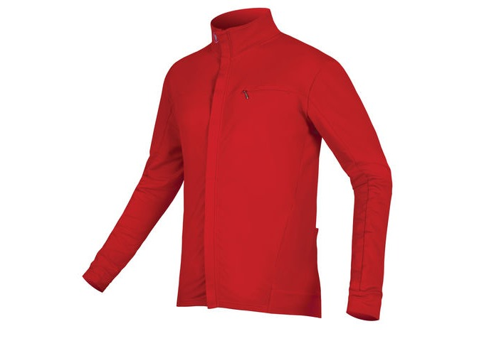 ENDURA Xtract Roubaix L/S Jersey Red click to zoom image