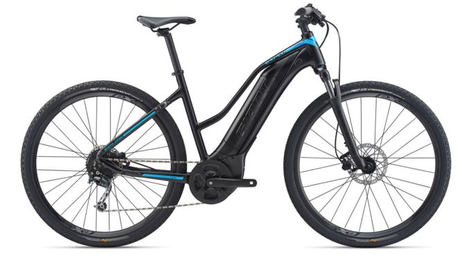 GIANT EXPLORE E+ 4 STAGGER FRAME ELECTRIC BIKE click to zoom image